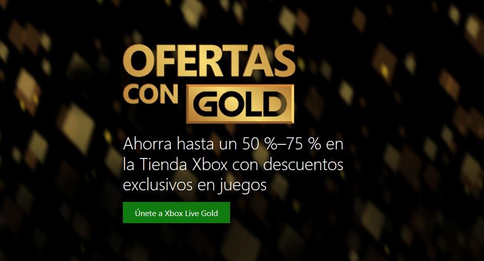 Xbox Live Gold - Ofertas con Gold