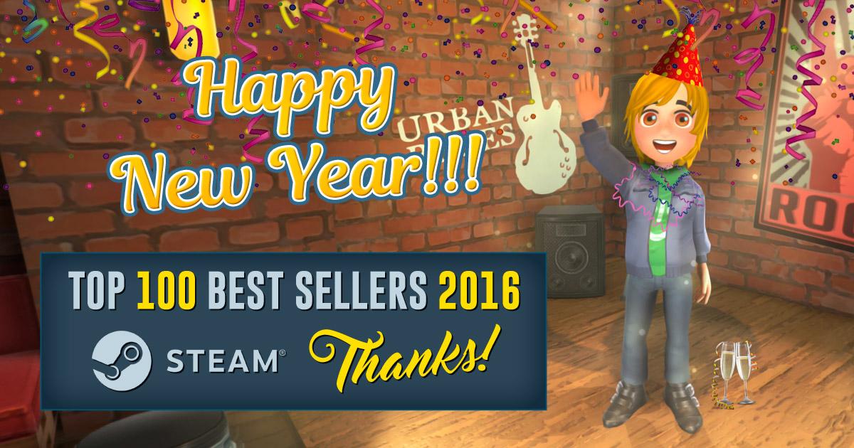 Youtubers Life - Juegos más vendidos de Steam en 2016