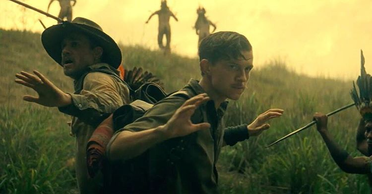 The lost city Z, Tom Holland, Charlie Hunnam