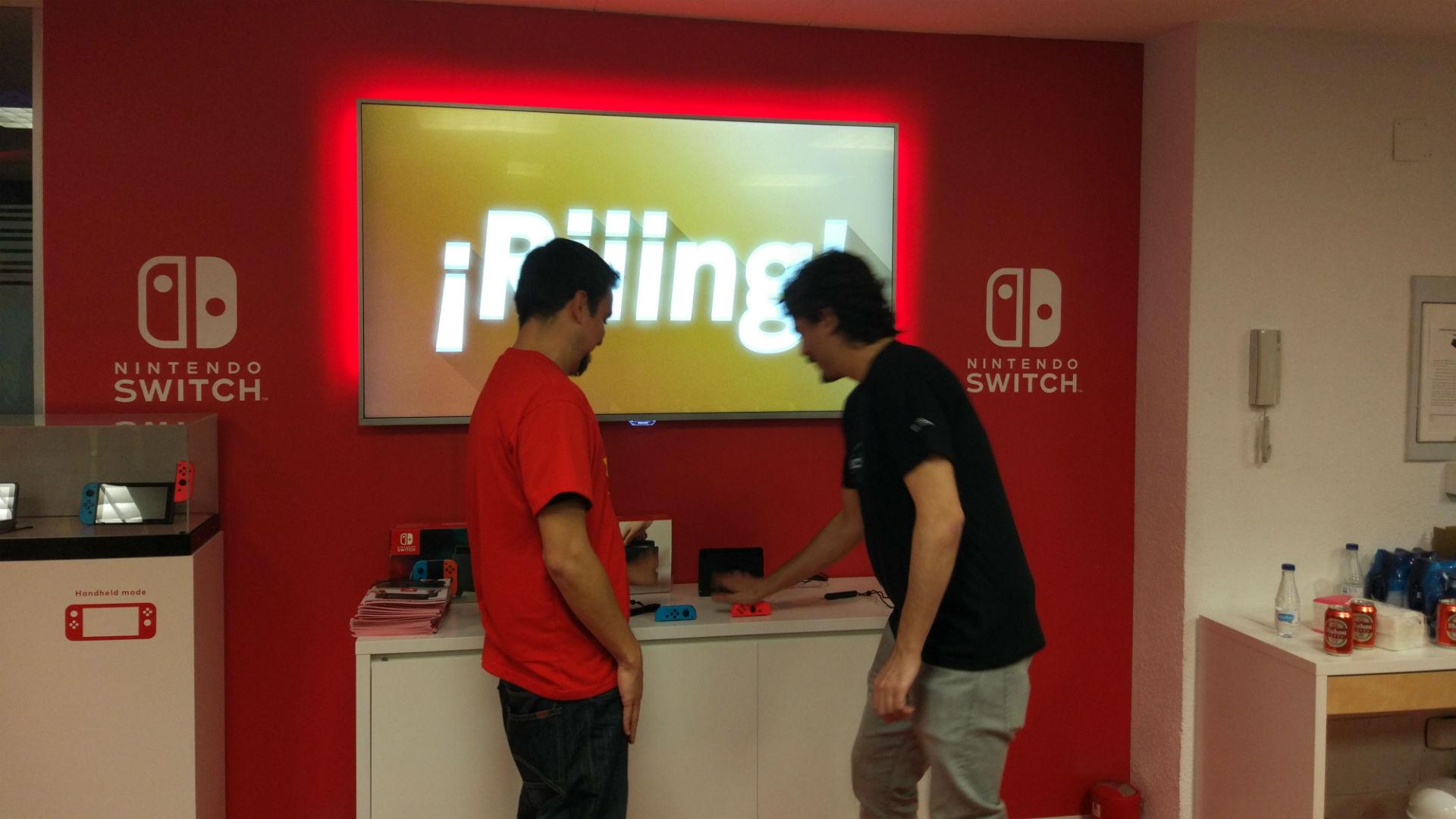 1 2 Switch Impresiones Del Juego Social Para Nintendo Switch