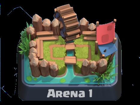 Arena 1 Clash Royale
