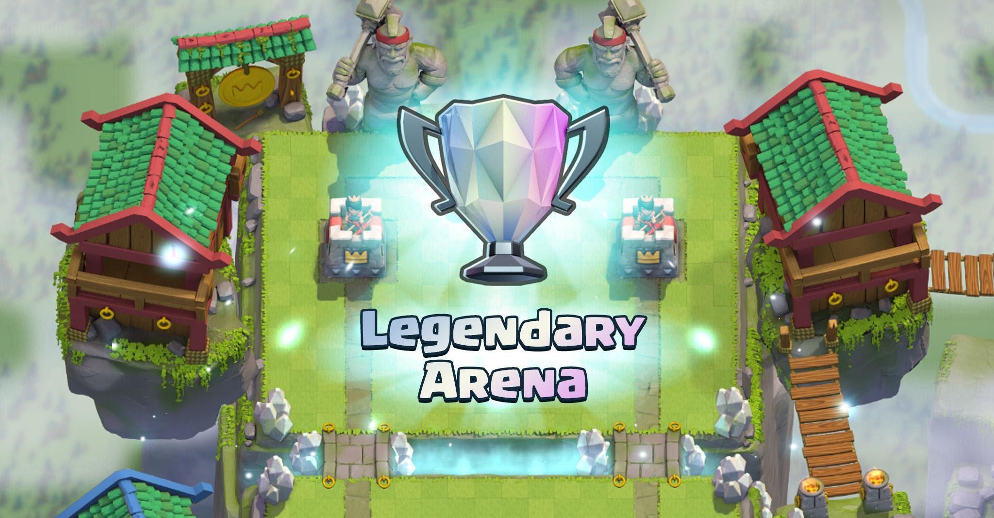 Arenas Clash Royale