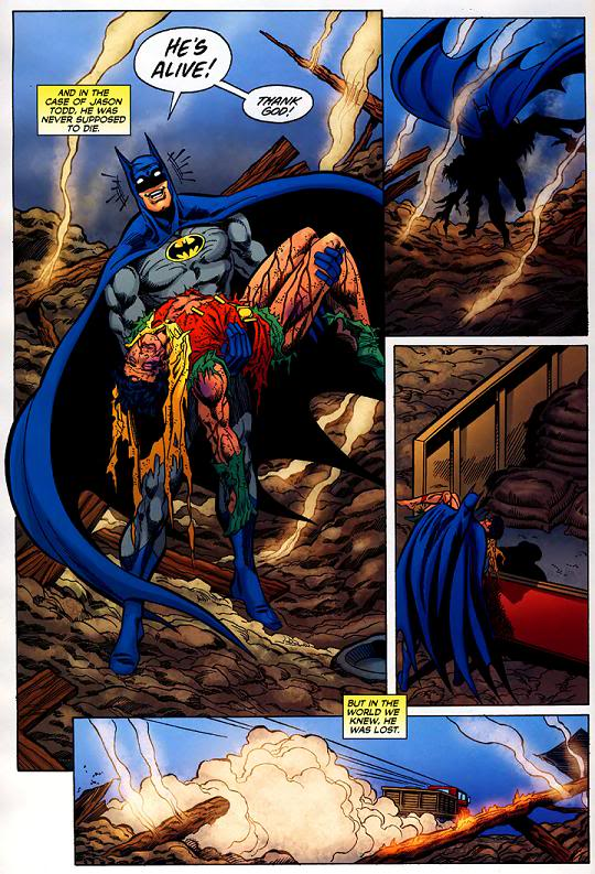Batman: Una muerte en la familia - Jason Todd sobrevive