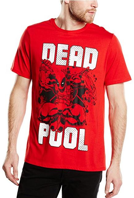 Camiseta Deadpool chico