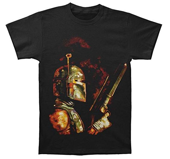 Camiseta friki Star Wars