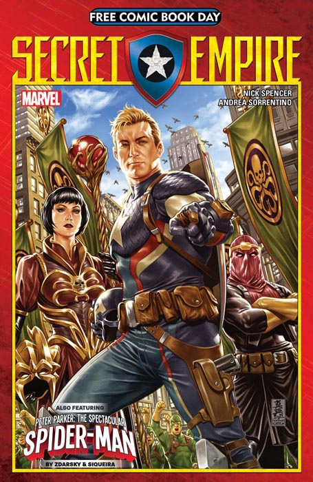Secret Empire Marvel Comics