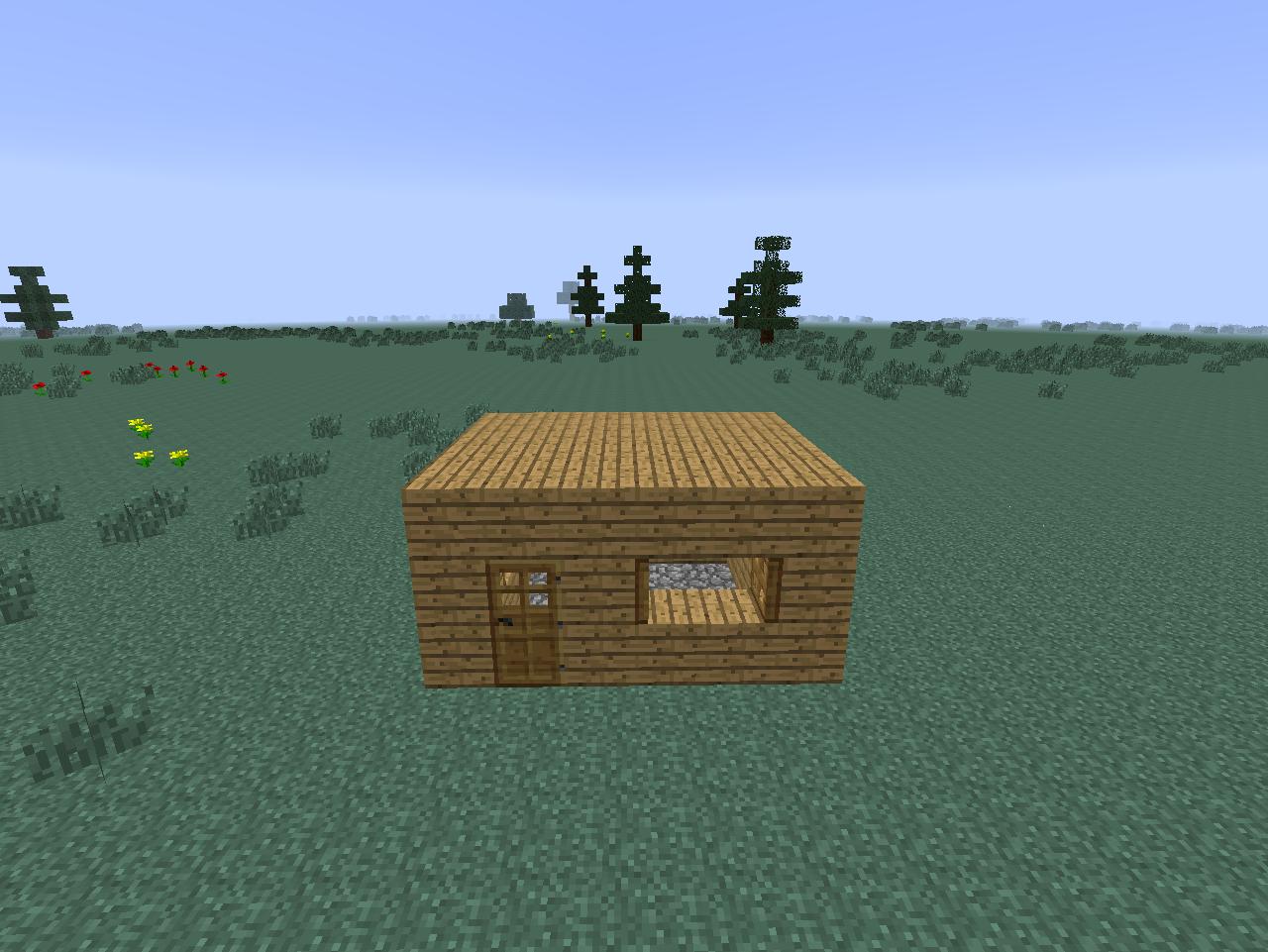 Casa básica Minecraft