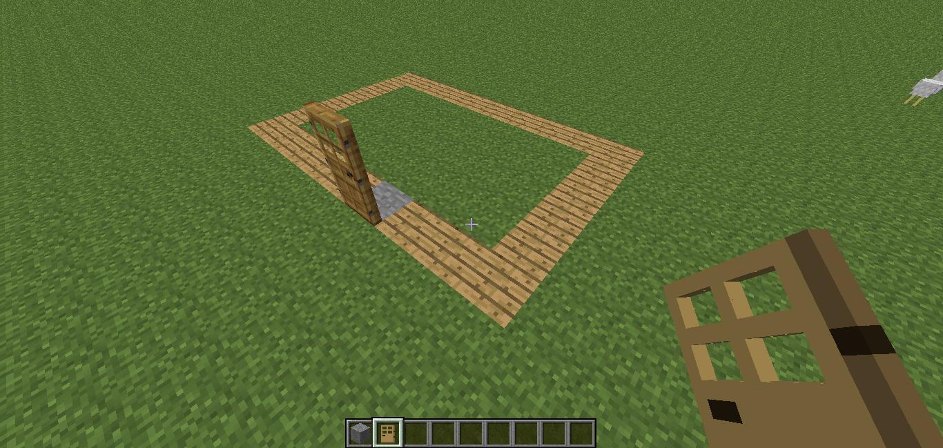 Cimientos casa Minecraft