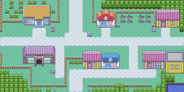 Ciudad Malvalona Pokémon Esmeralda