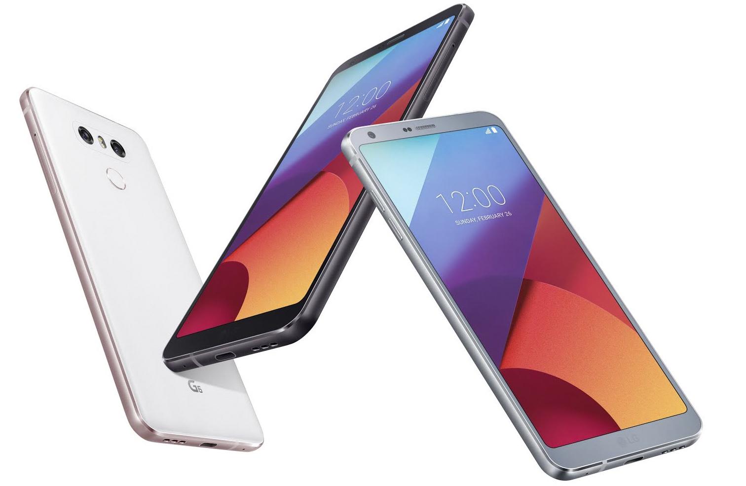Colores en LG G6