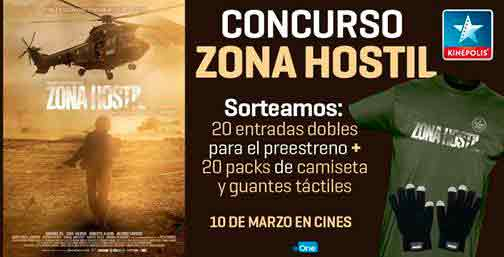 Concurso Zona hostil