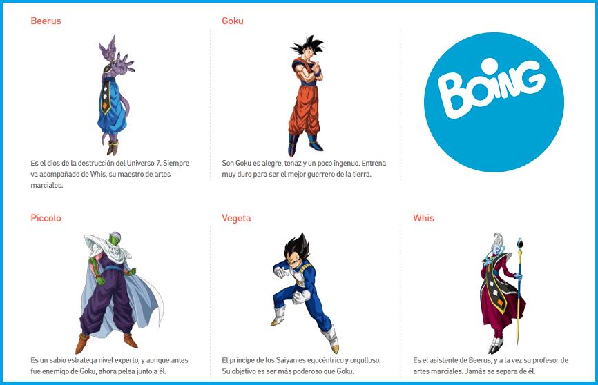 Dragon Ball Super en Boing