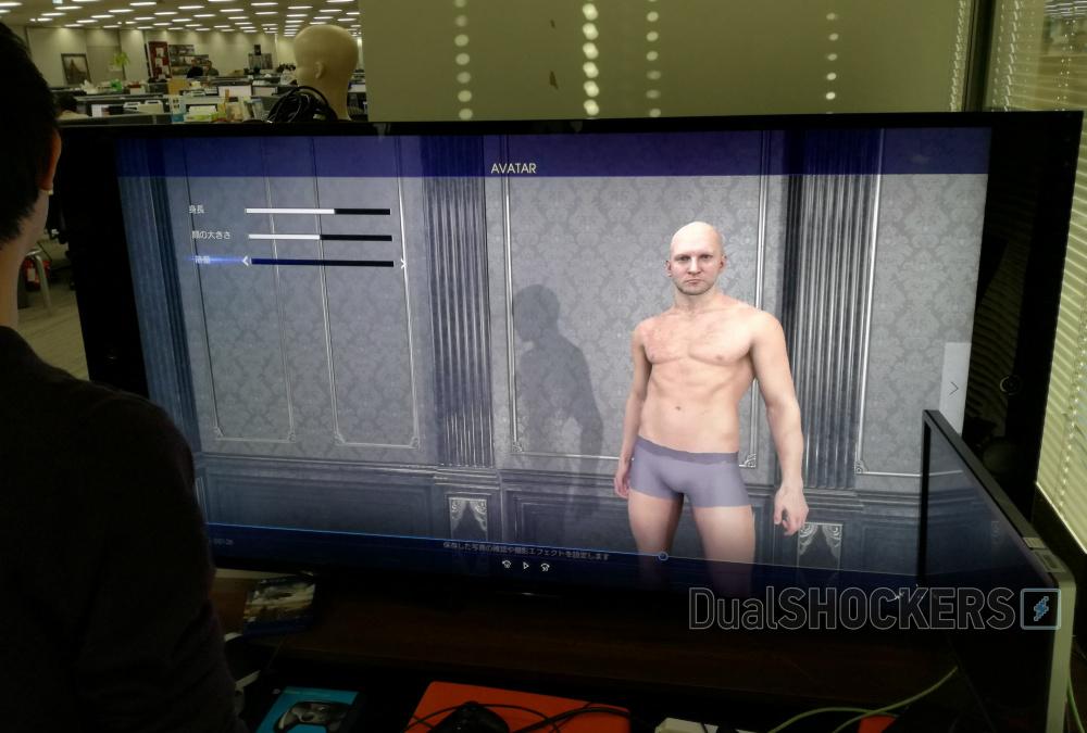 Final Fantasy XV creación de avatares
