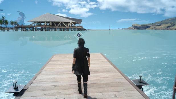 Final Fantasy XV Pescar