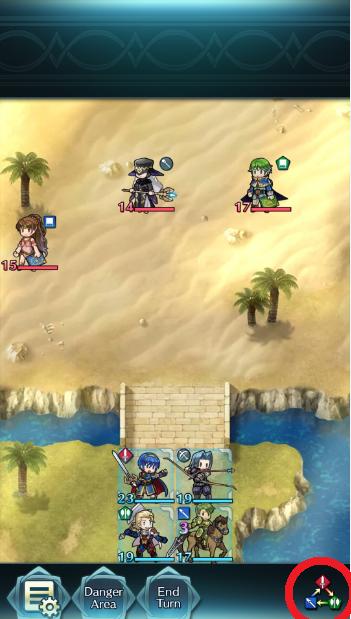 Fire Emblem Heroes batalla