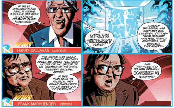 Marvel, Capitán América, cómic