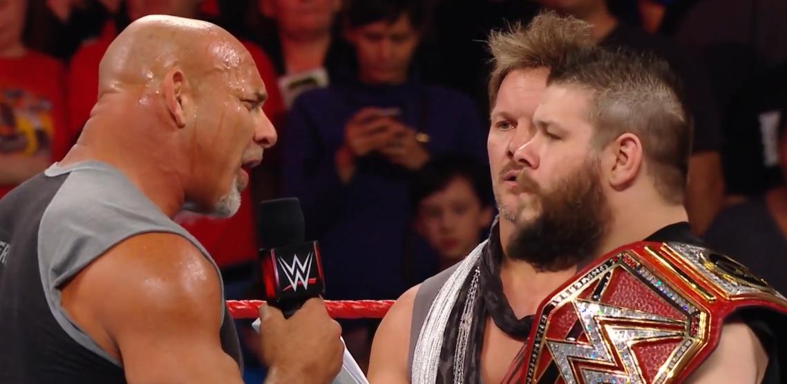 Goldberg vs Kevin Owens en Fastlane 2017