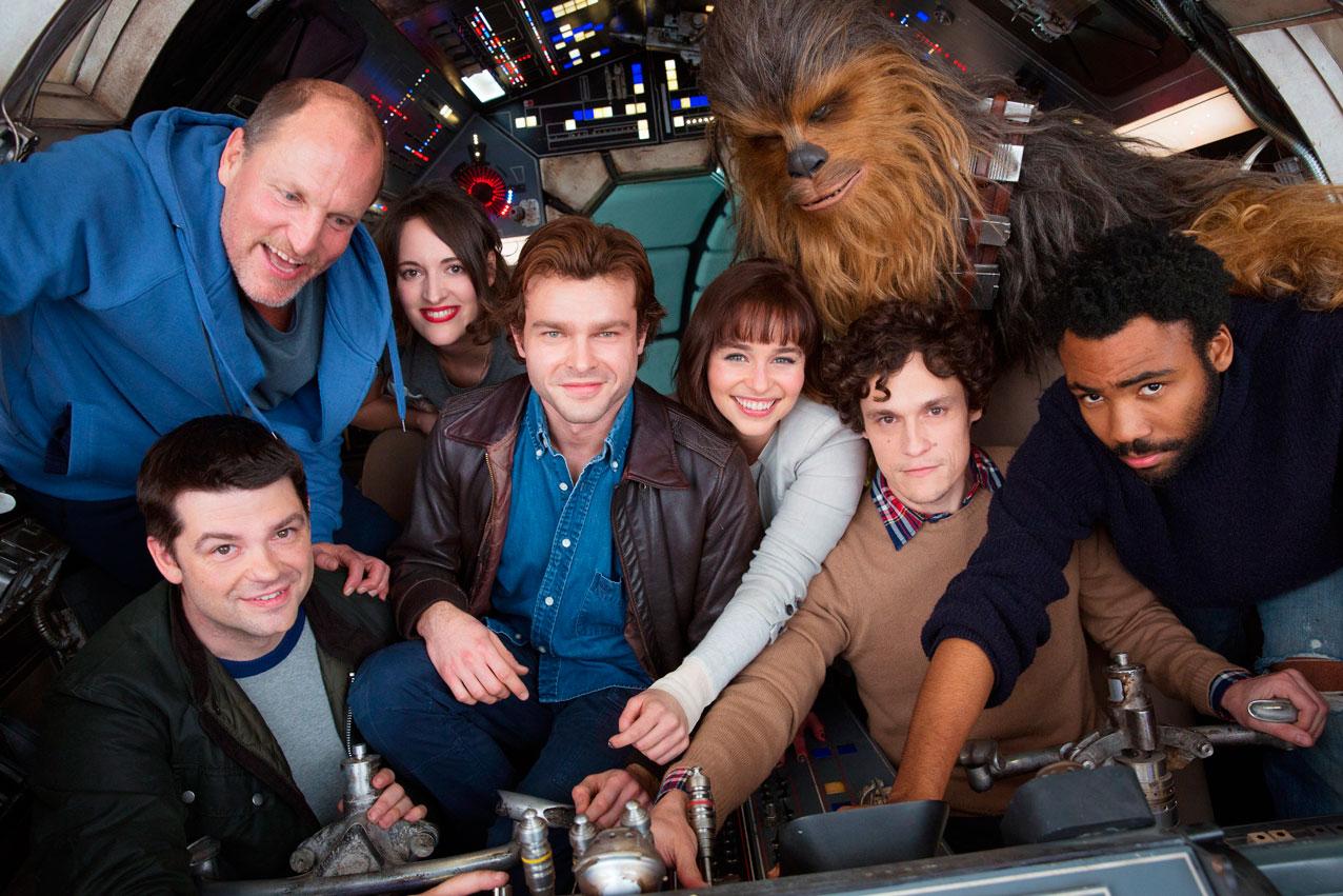 Han Solo spin-off - Imagen del reparto