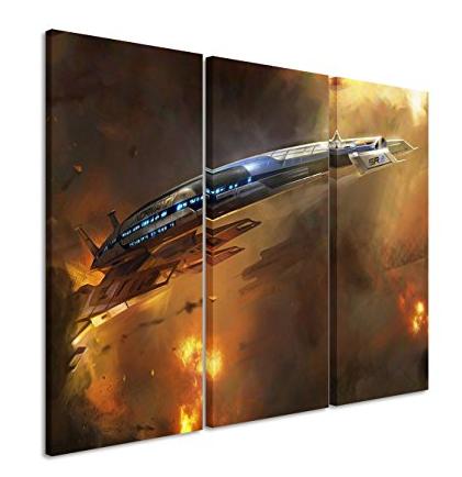 Lienzo pared Mass Effect