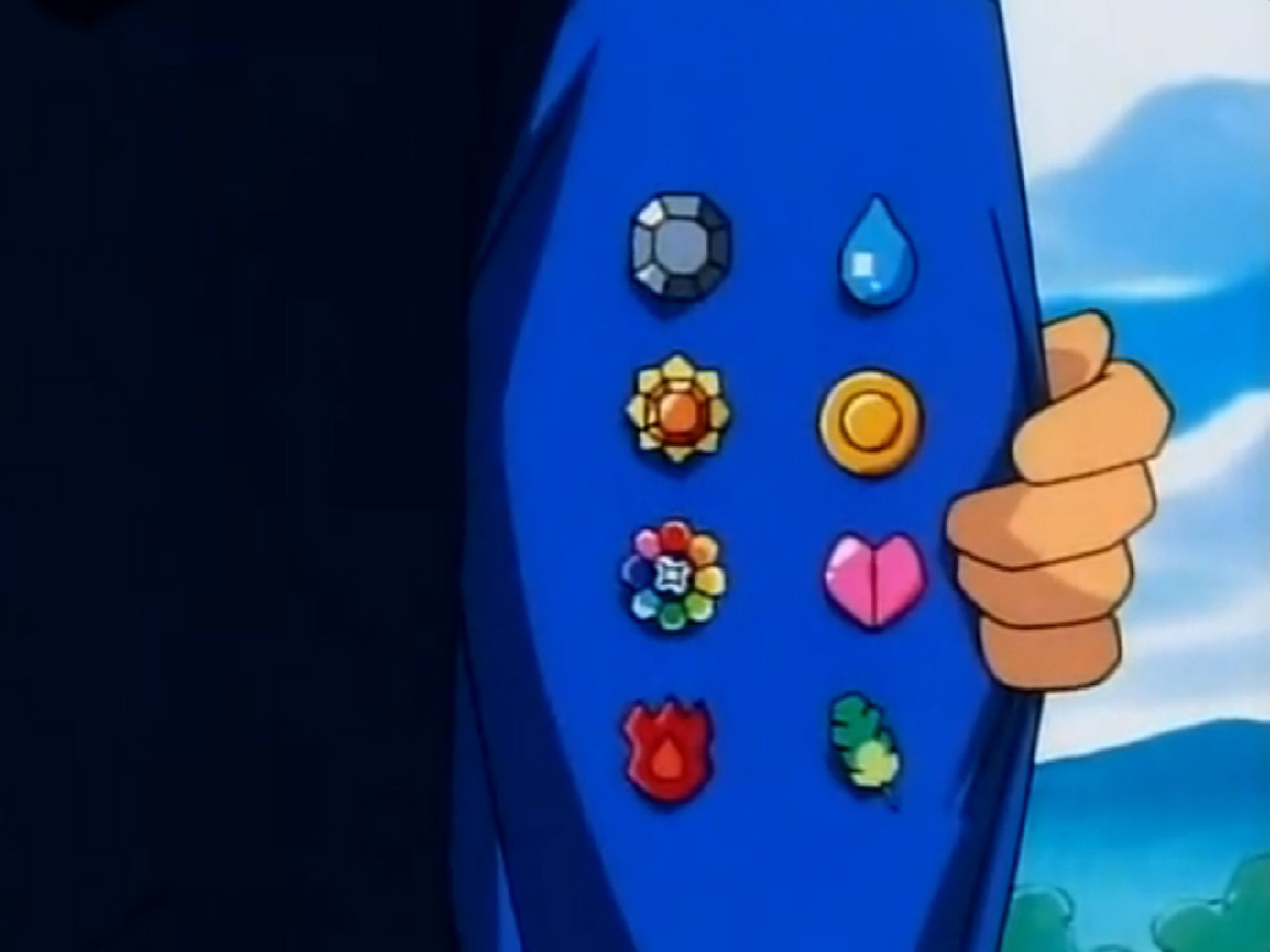Medallas Pokémon