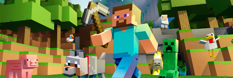 Minecraft: Móvil, Nintendo Switch, PC, PS VITA, PS3, PS4