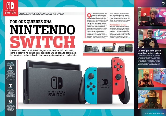Nintendo Switch Reportaje RON 294