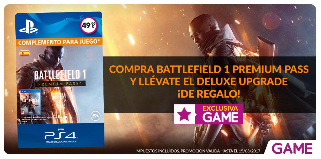 Oferta Battlefield 1 en GAME