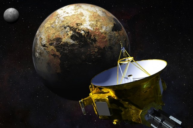 Plutón proyecto New Horizons