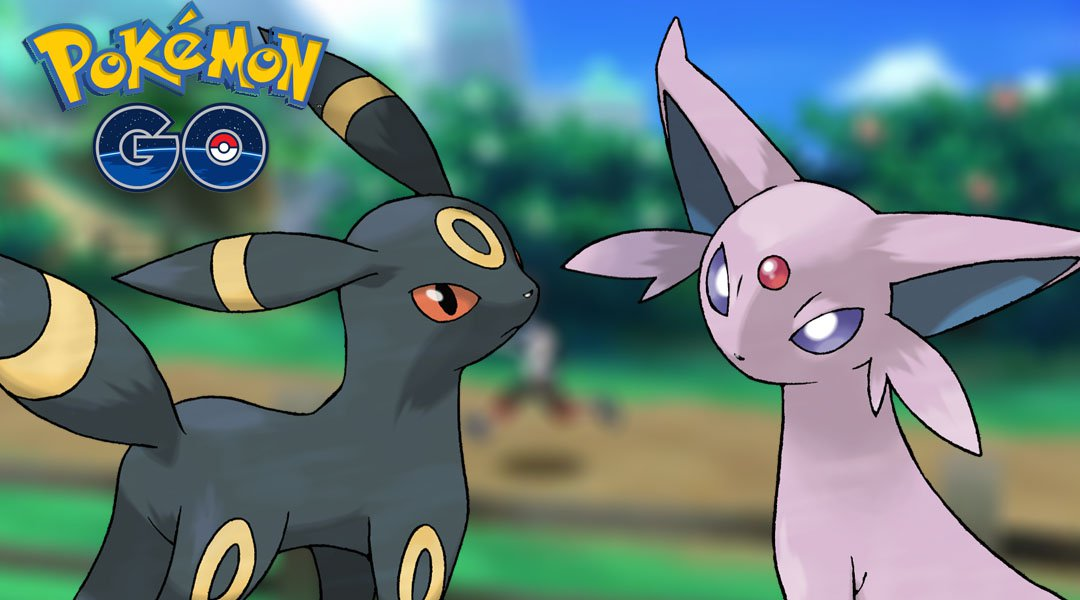 Pokémon GO - Umbreon y Espeon