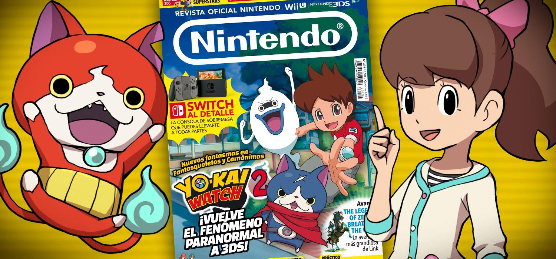 Revista oficial nintendo n 294 ya a la venta con una for Revista primicias ya hoy