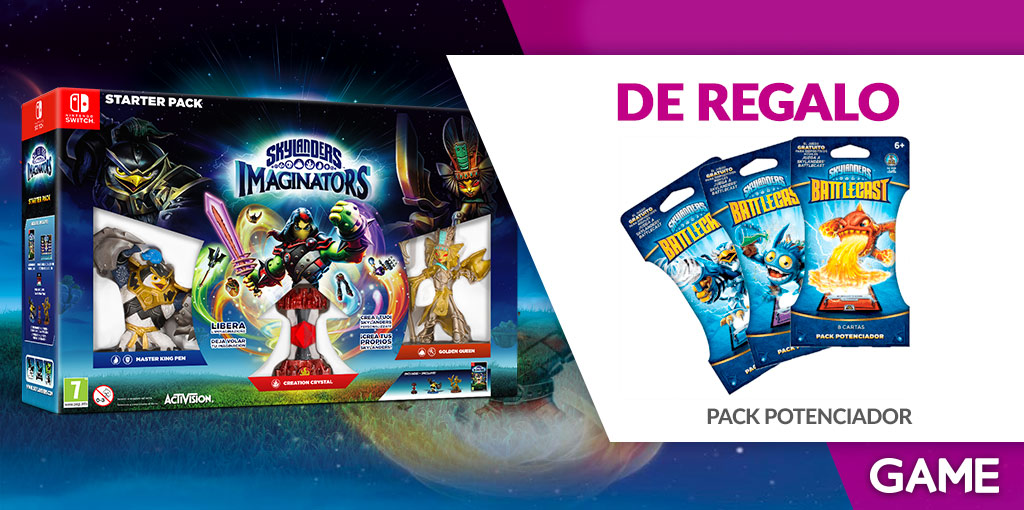 Regalo de reserva de Skylanders Imaginators para Nintendo Switch en GAME