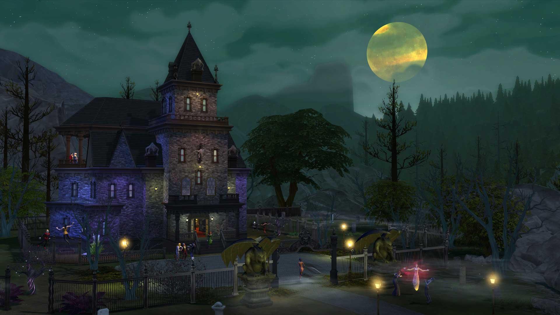 Los Sims 4 Vampiros Forgotten Hollow