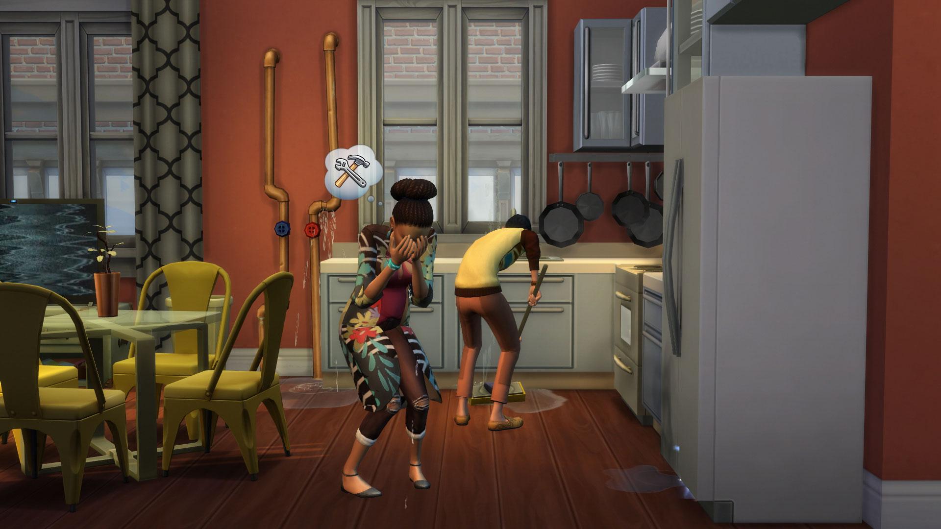 Los Sims 4 Urbanitas pantalla apartamentos
