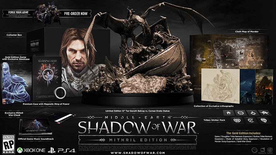 Sombras de Guerra Mithril Edition