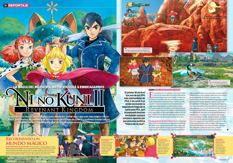 Todo sobre Ni no Kuni II en Playmanía