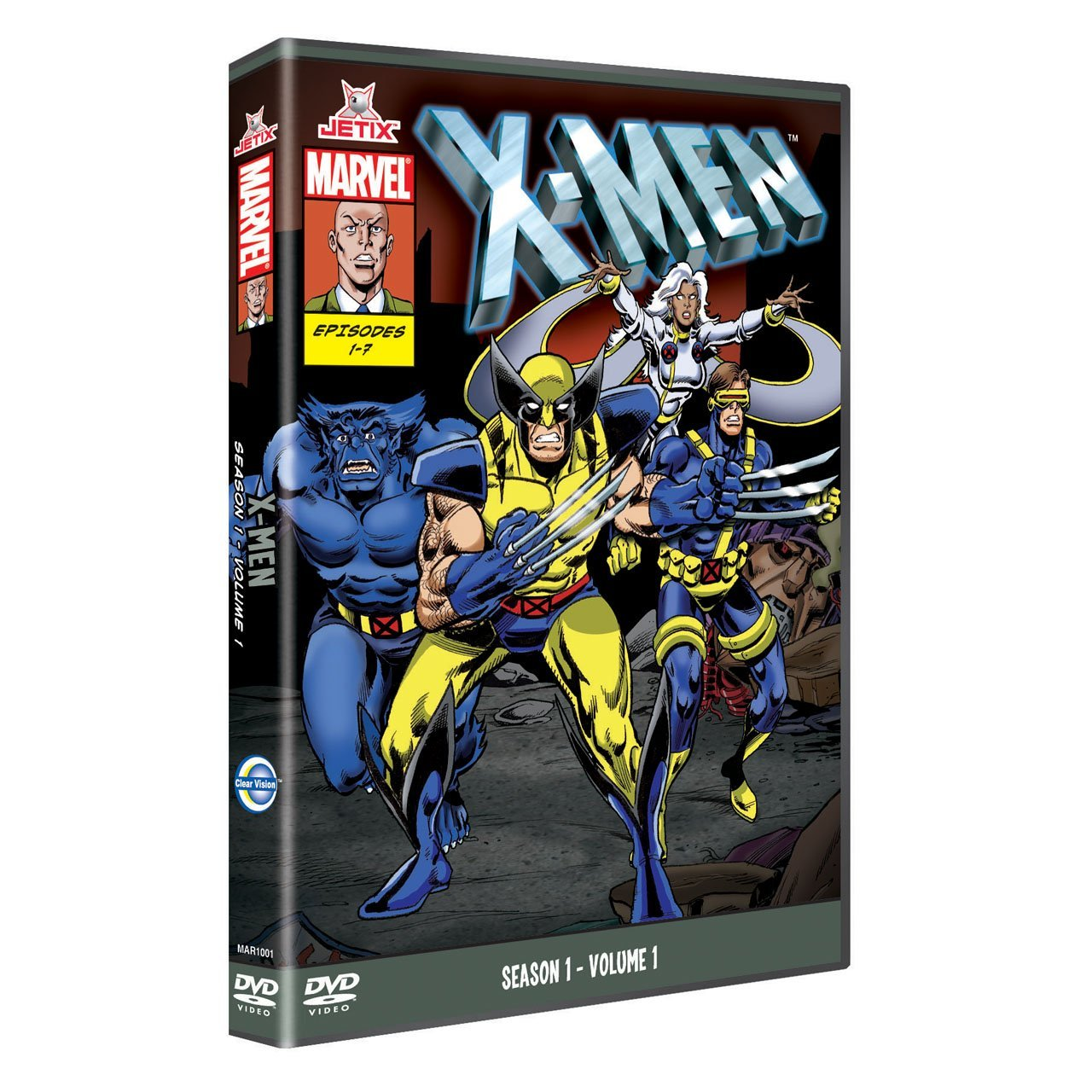 X-men: serie animada DVD