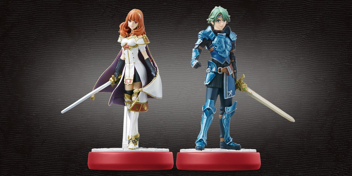 Amiibos de Fire Emblem Echoes Shadows of Valentia