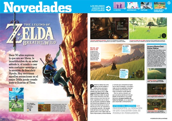Análisis Zelda Breath of the Wild