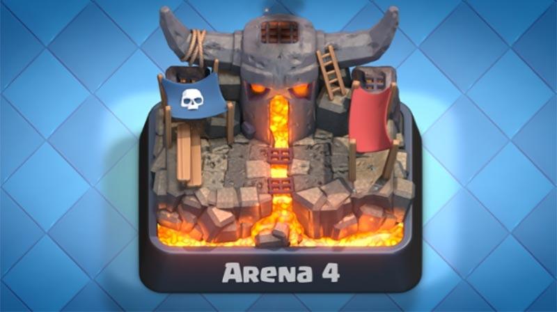 Arena 4 Clash Royale