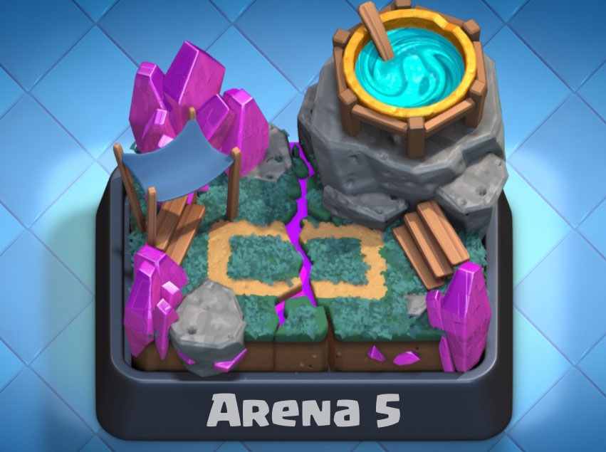 Arena 5 Clash Royale