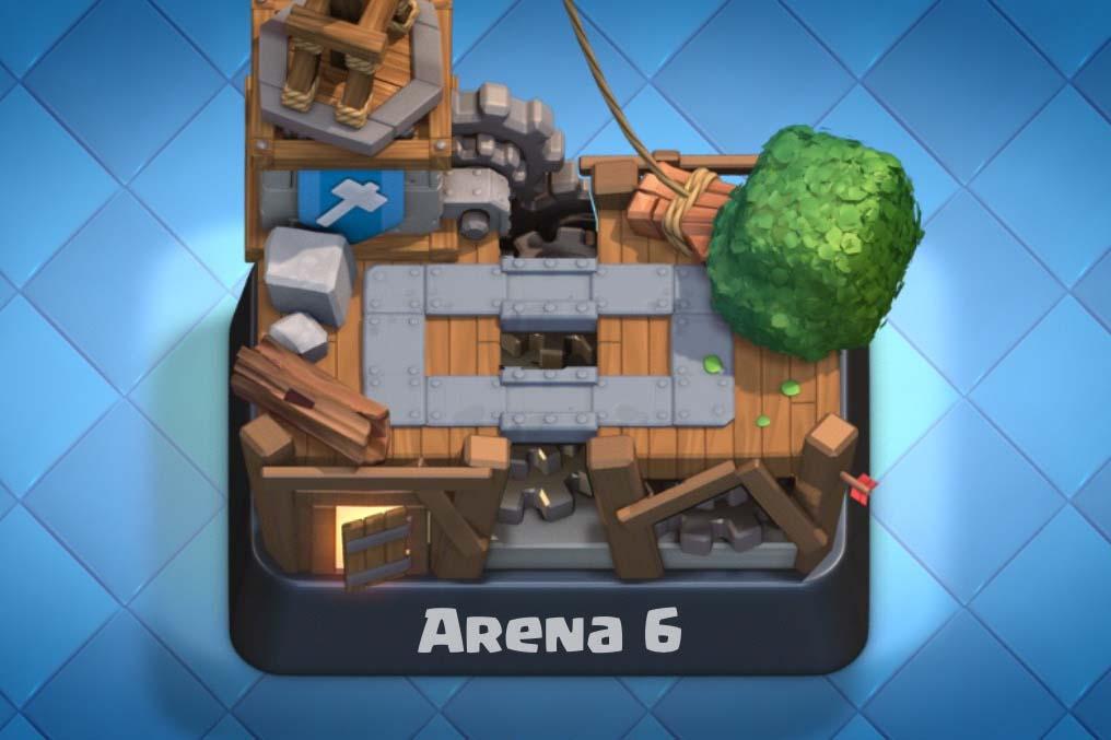Clash Royale Arena 6 Mejor Baraja De Cartas Y Estrategia