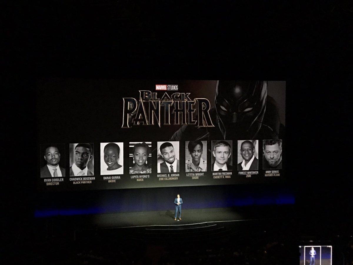 Black Panther personajes