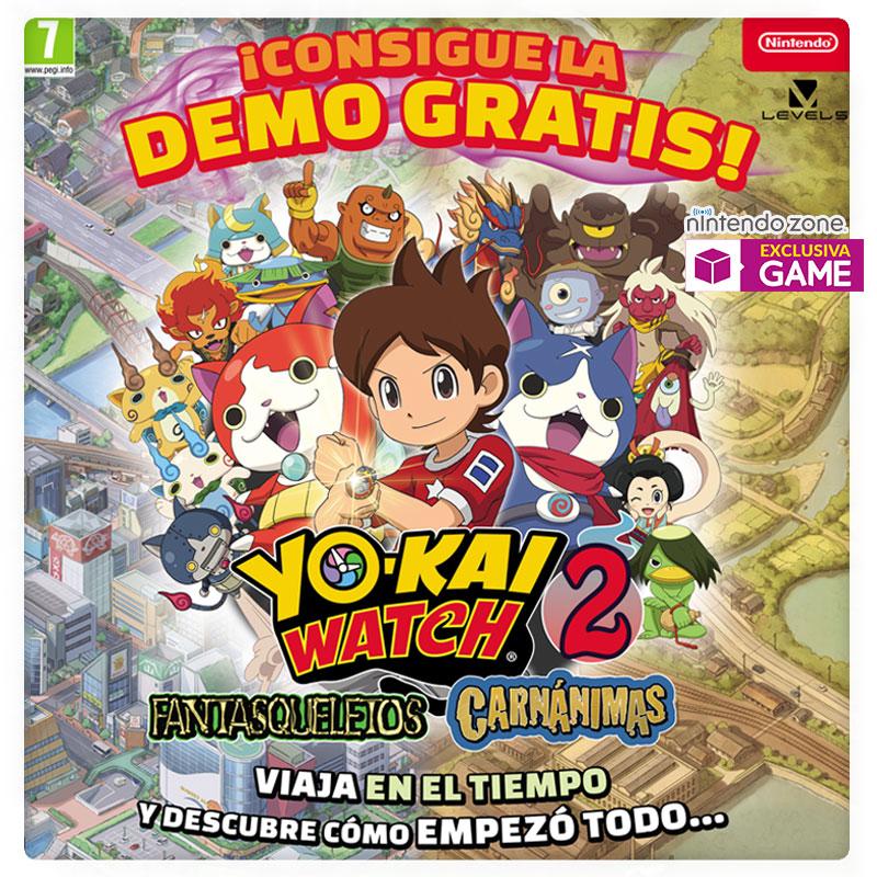 Demo de Yo-Kai Watc 2 en GAME