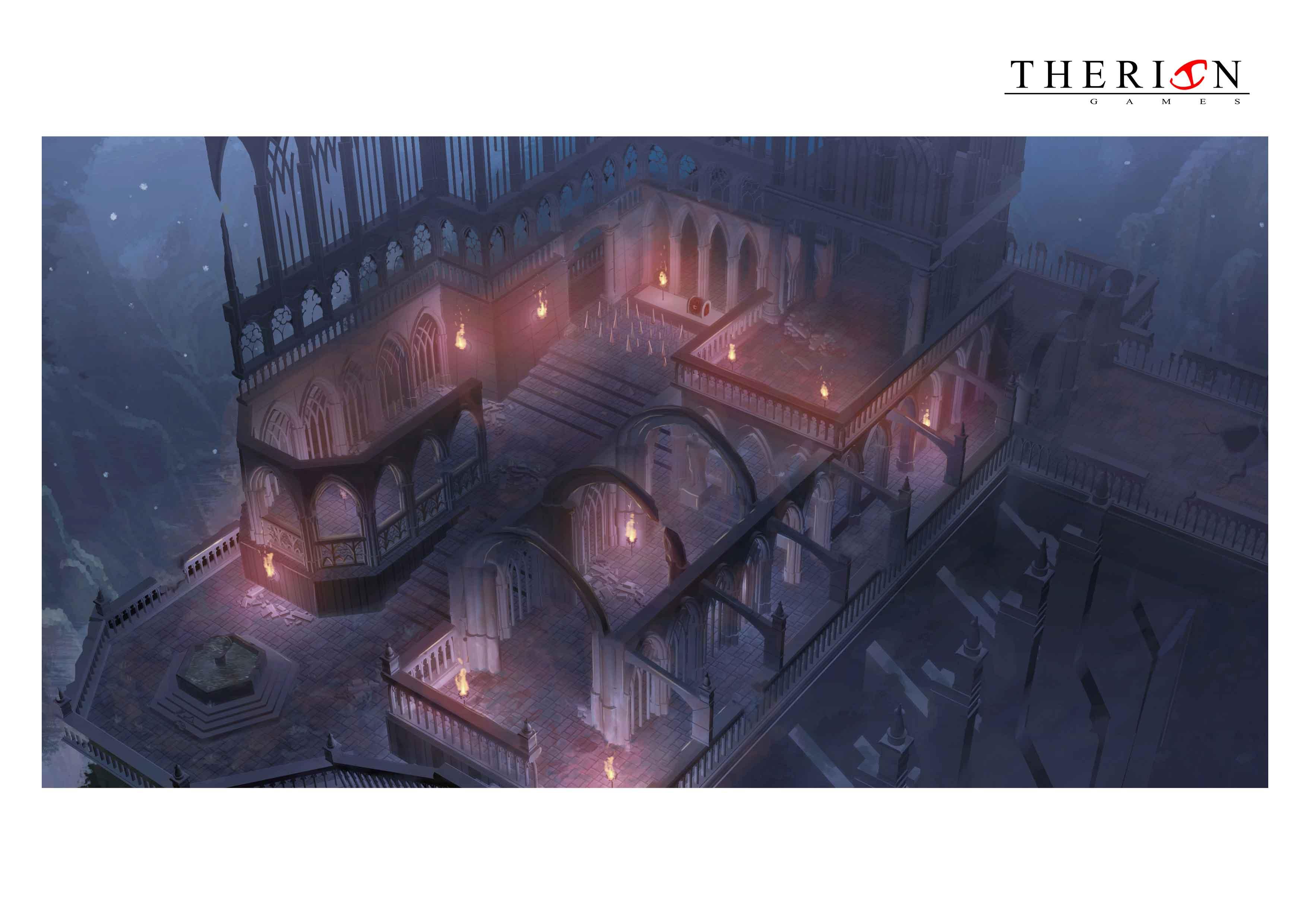 A medida que vayamos avanzando en el juego más evolucionará la arquitectura de los escenarios.