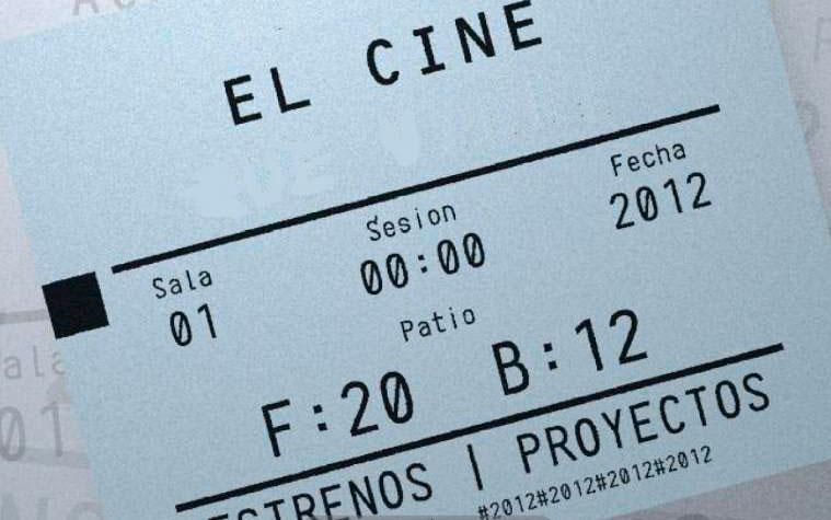 entrada de cine