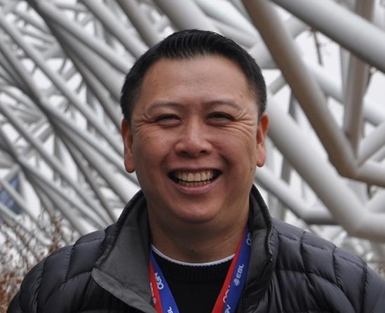 George Woo of Intel Extreme Masters