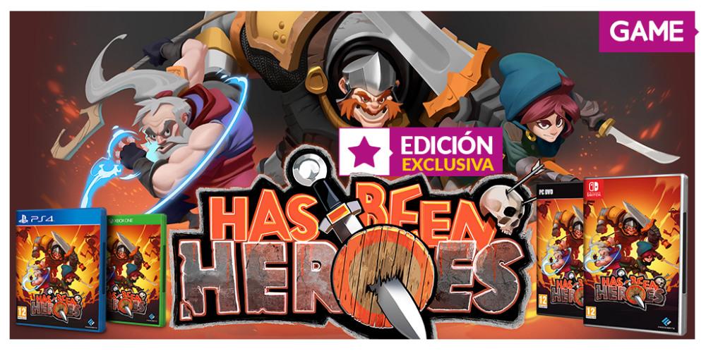Has Been Heroes GAME