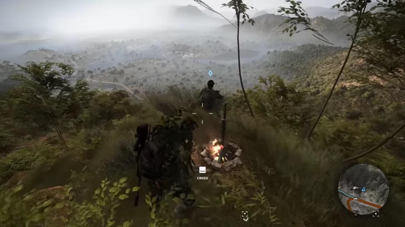Huevo de pascua de Dark Souls en Ghost Recon Wildlands