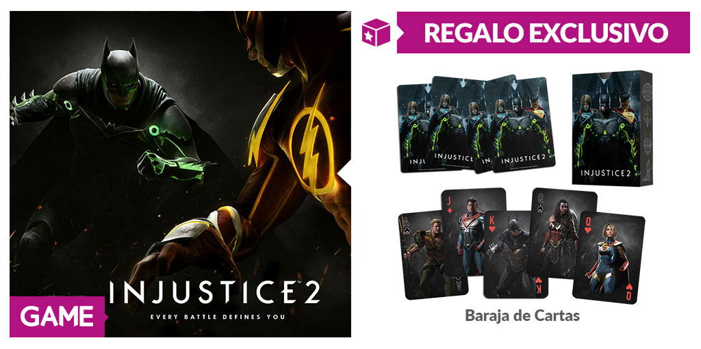 Injustice 2 - Regalo de reserva en GAME