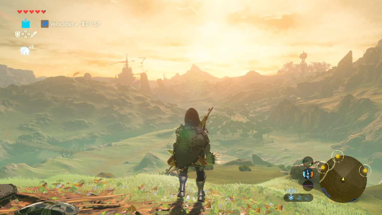 Zelda Breath of the Wild análisis Switch